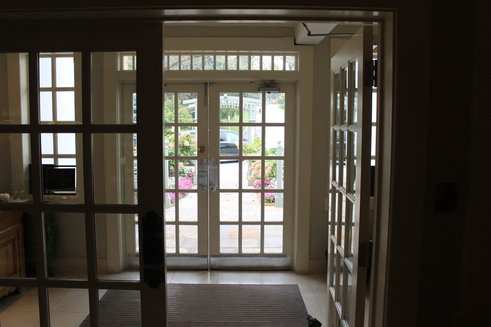Picture of accessible front entrance.