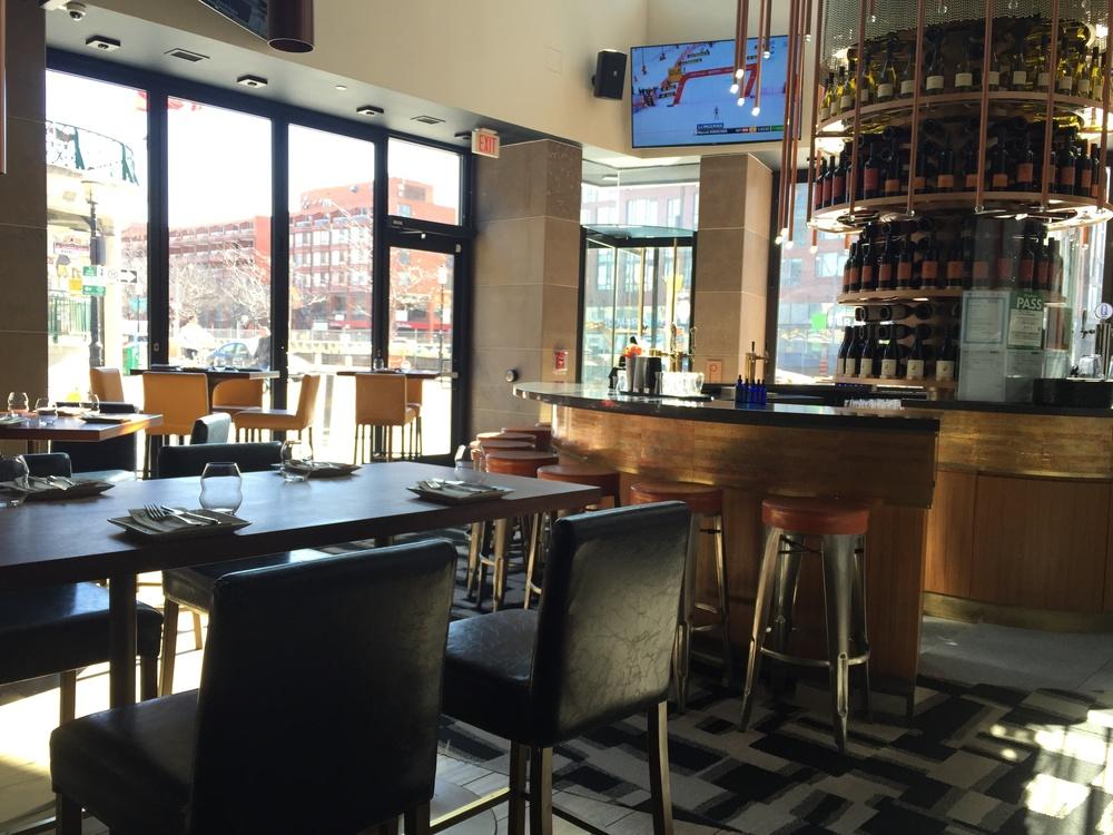 Picture of interior of restaurant.