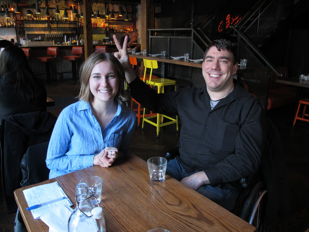 Picture of the review team: Jenna Gourdeau & Michael Dytyniak