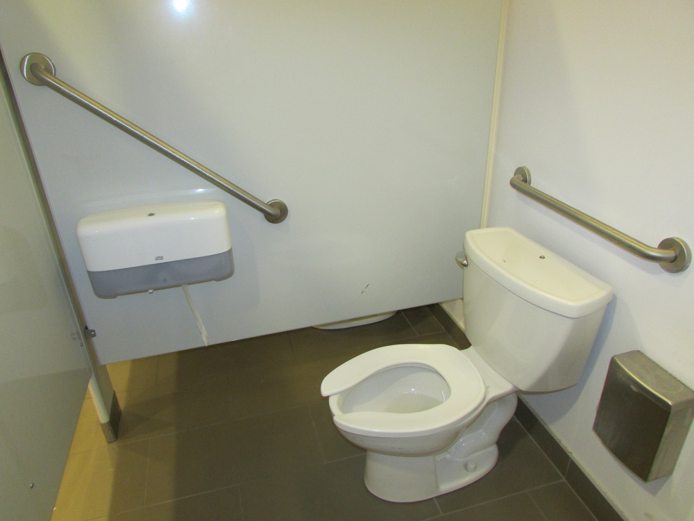Picture of accessible washroom stall