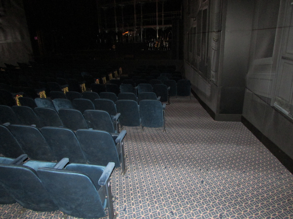 Picture of accessible seating in theatre