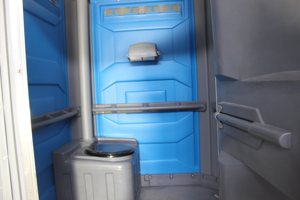 Picture of the interior of the accessible portable washroom