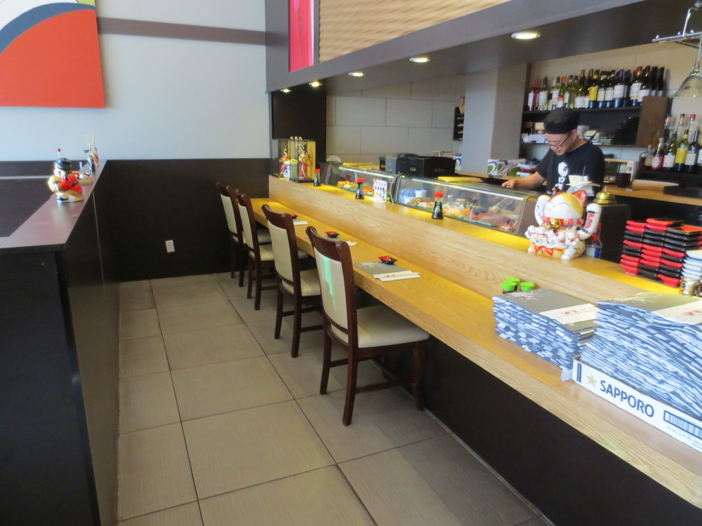 Picture of sushi bar