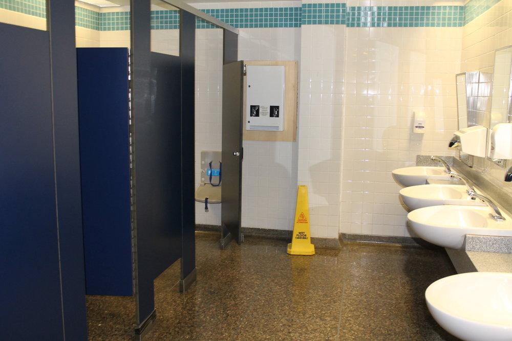 Washroom stalls and sinks.JPG