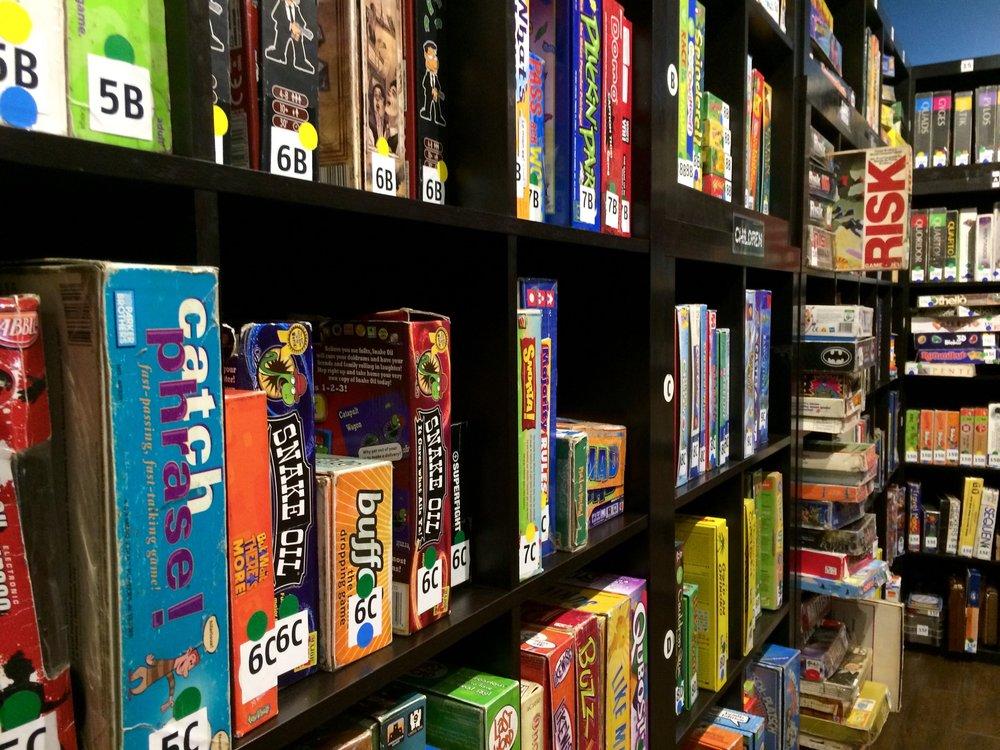 games storage