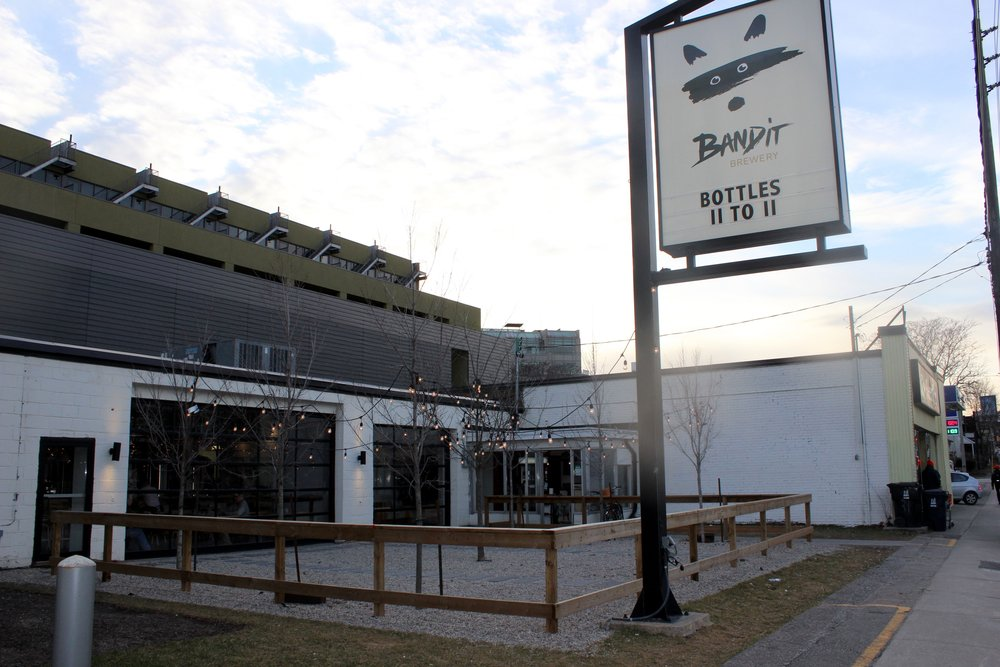 bandit brewery exterior
