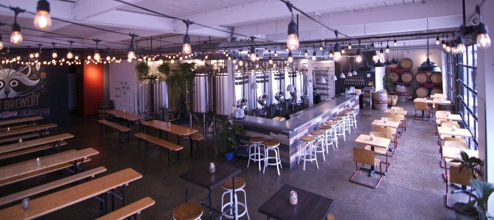 bandit brewery tasting room