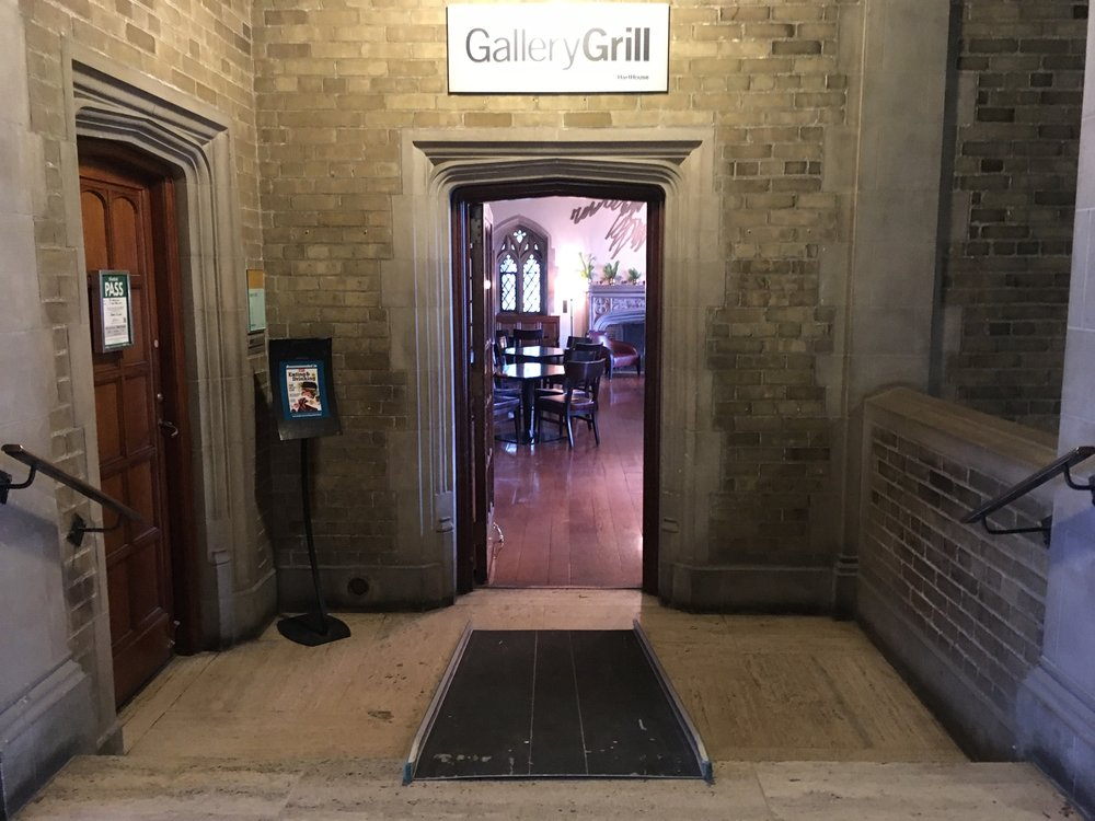 Picture of accessible entrance