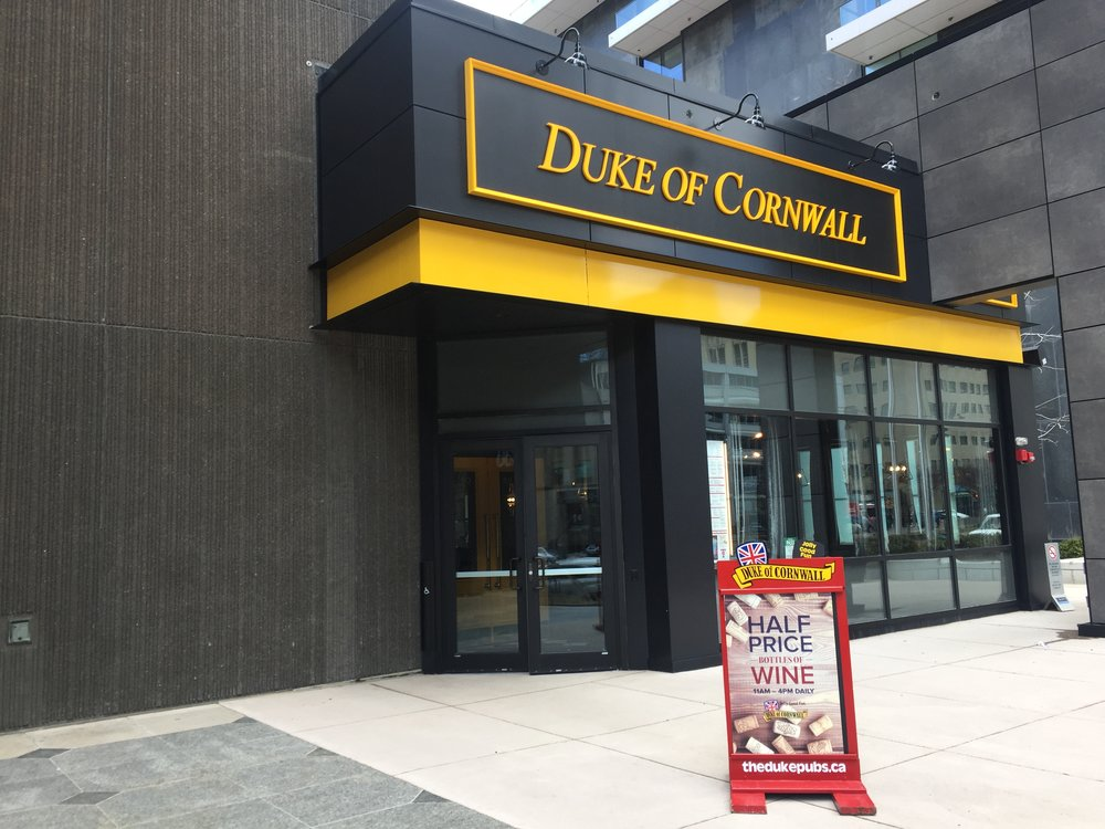 Picture of accessible entrance of the Duke of Cornwall
