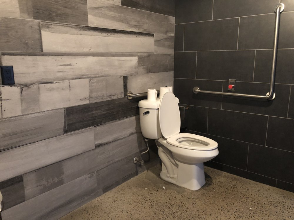 Picture of accessible washroom at Godspeed Brewery