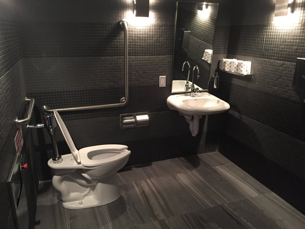 Picture of accessible washroom at Impact Kitchen