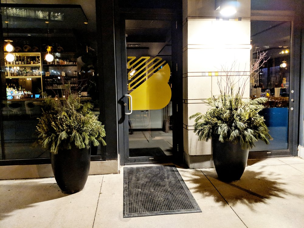 Picture of accessible entrance at Bacchanal