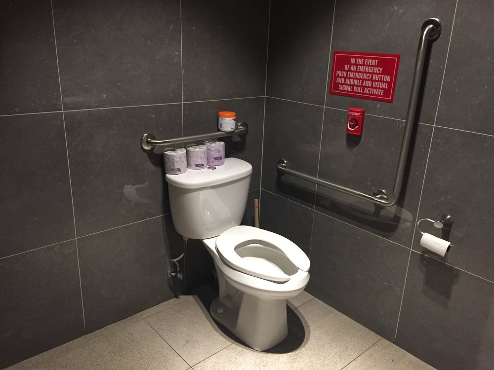 Picture of accessible washroom at Rolltation