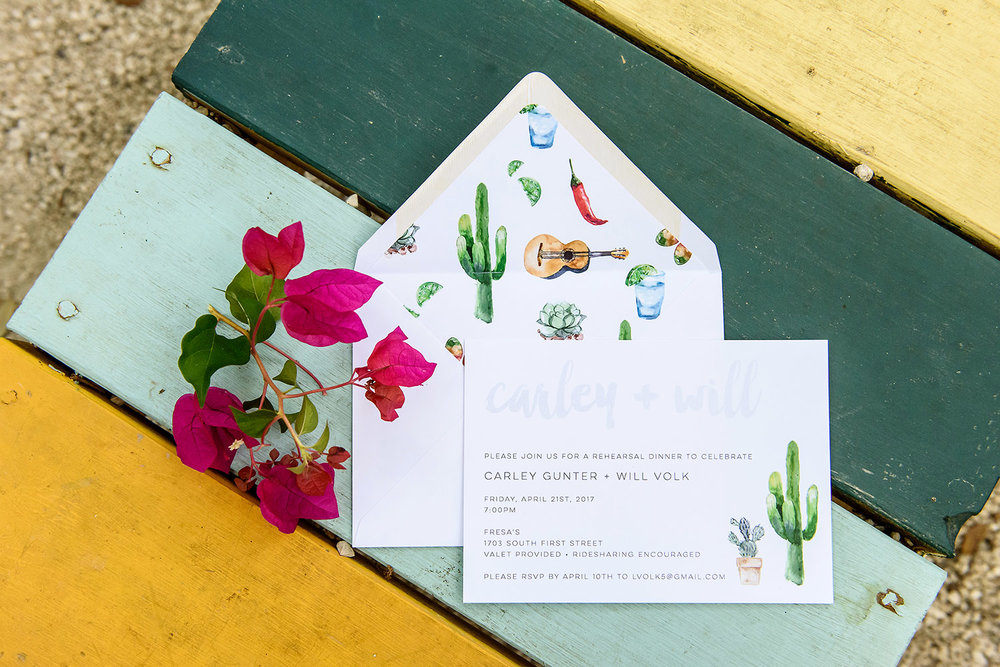 Southwestern invitations