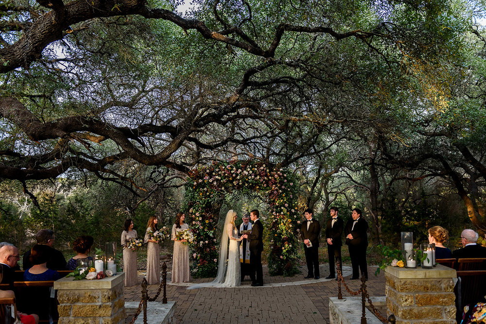 live oak wedding
