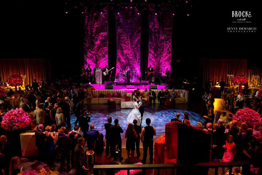Moody Theater wedding