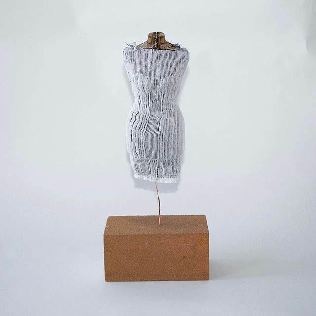 DIY mannequin with fully woven garment #woven #mannequin #diy #prototype #seamless