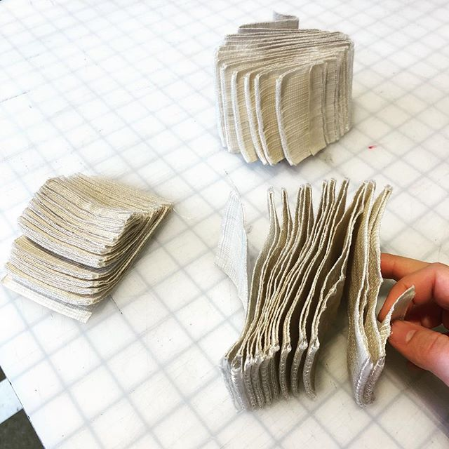3dimensional weave achieved through woven structure #studiotwo #3dweave #woven #designweekpdx @designweekpdx