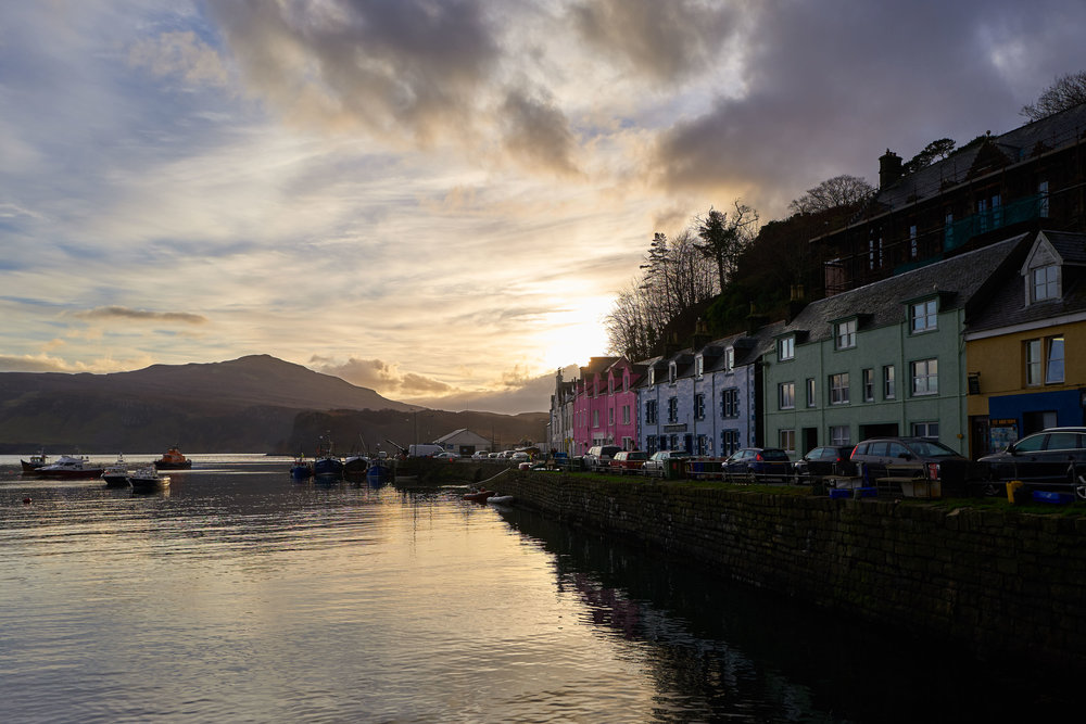 The town of Portree