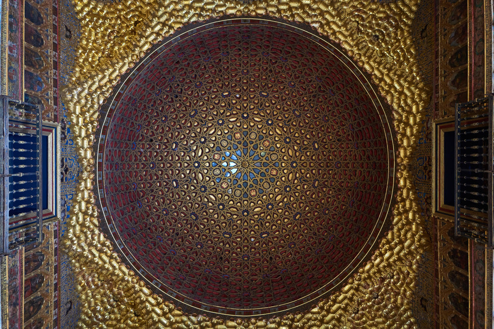 The roof of one of the Alcazar palaces - Leica Q