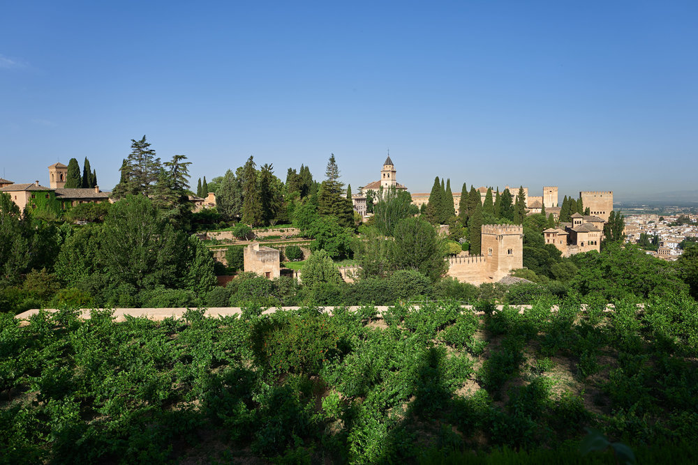 The Alhambra as seen from the Generalife - Leica Q