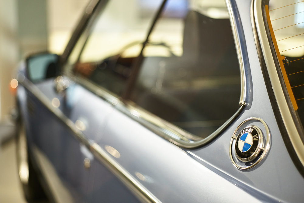 3.0 CSL from the back - one of the most desirable cars in my book