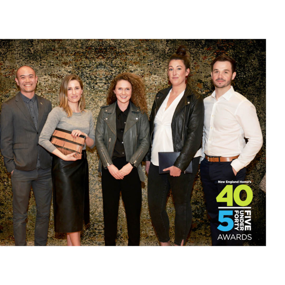 NEW ENGLAND HOME 5 UNDER 40 | APRIL 2018