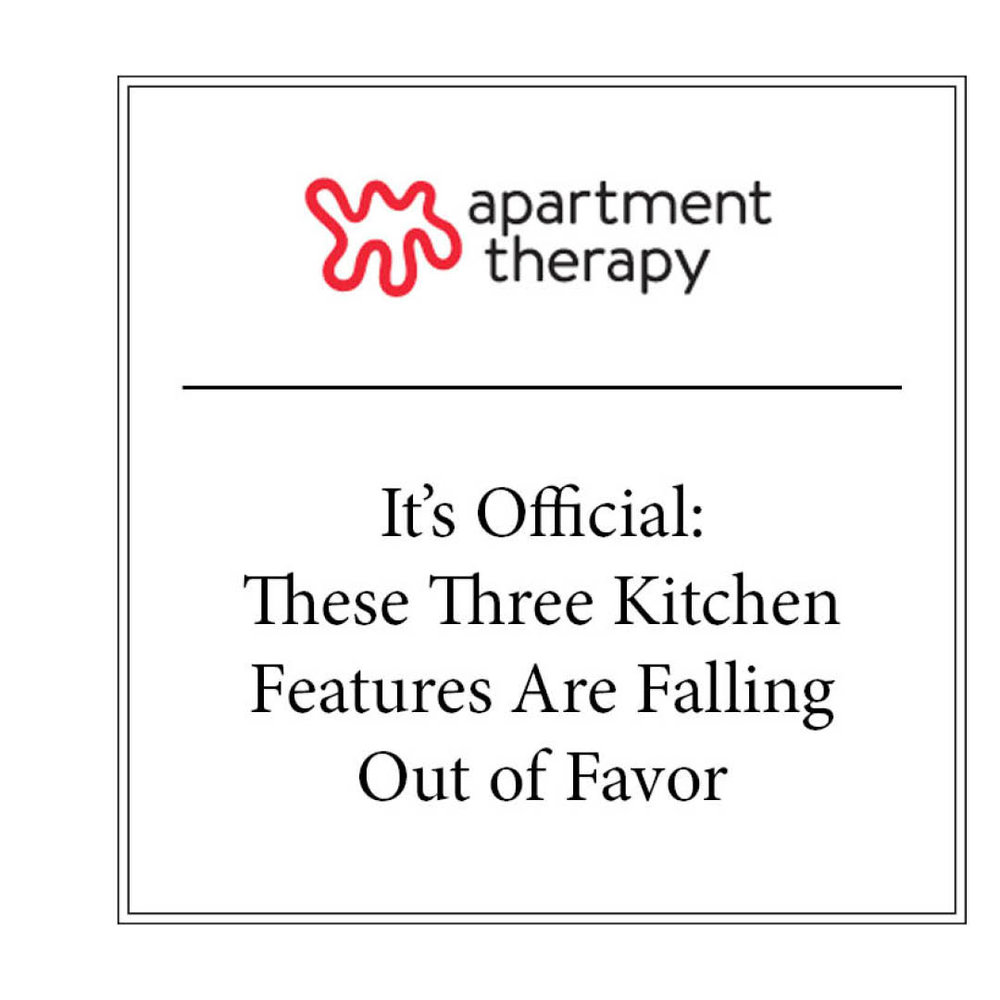 APARTMENT THERAPY | JAN 2018