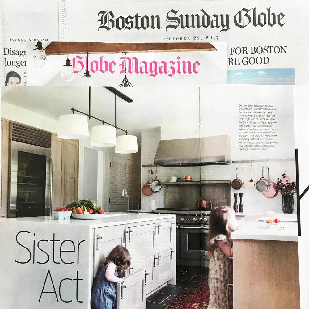 BOSTON GLOBE MAG | OCT 2017