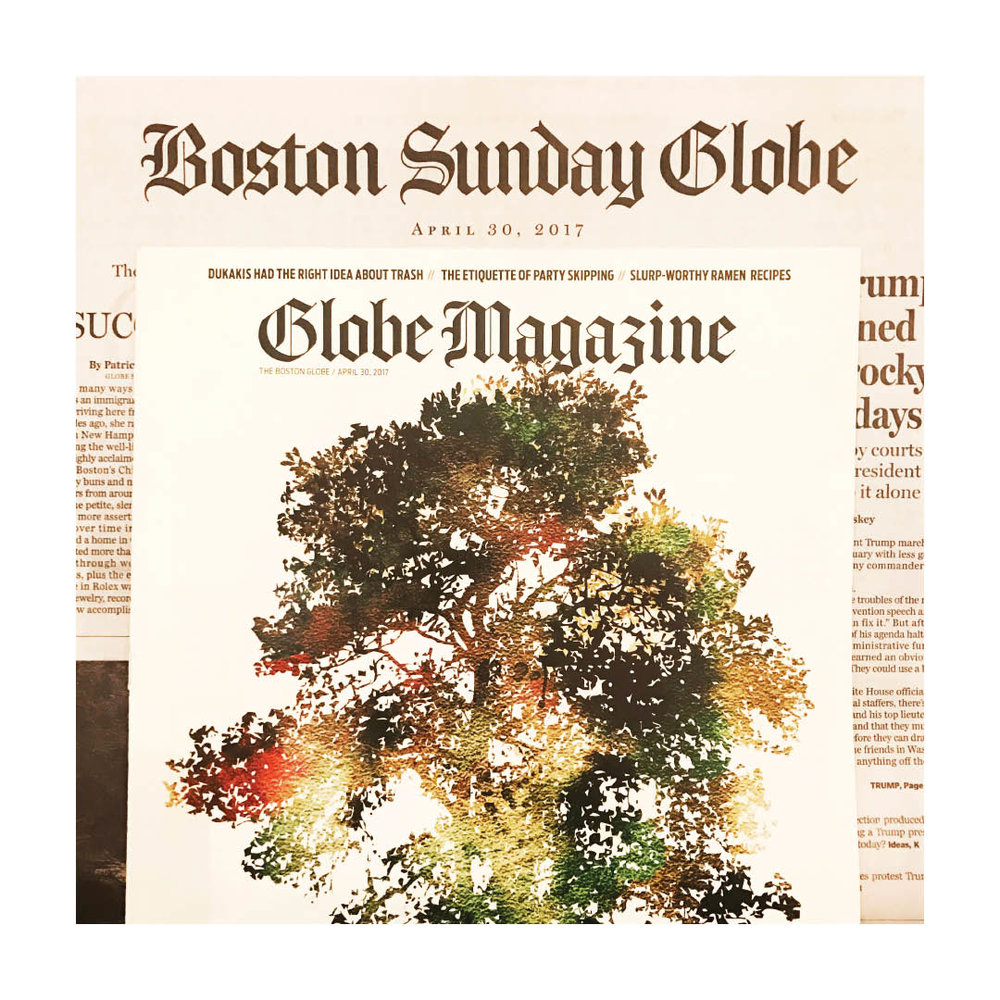BOSTON GLOBE MAG | APRIL 2017