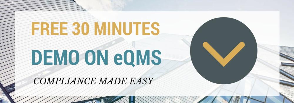 free demo on eqms