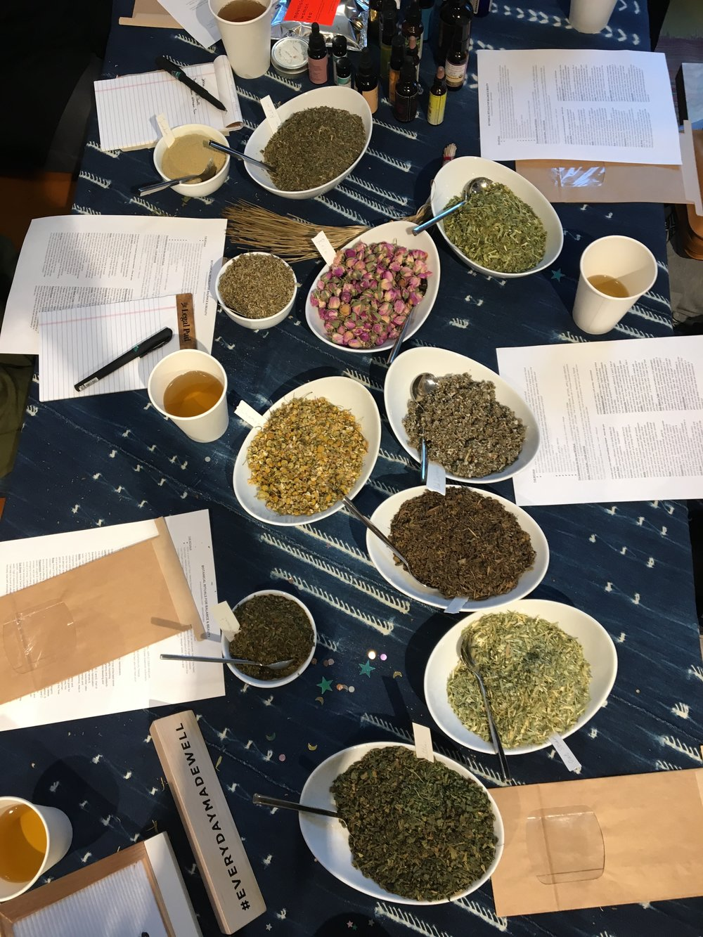 Workshop: Custom Herbal Tea Blending for Stress & Anxiety