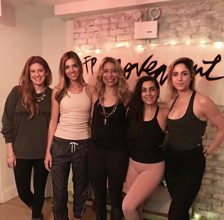Free People Movement Wellness Panel in NYC