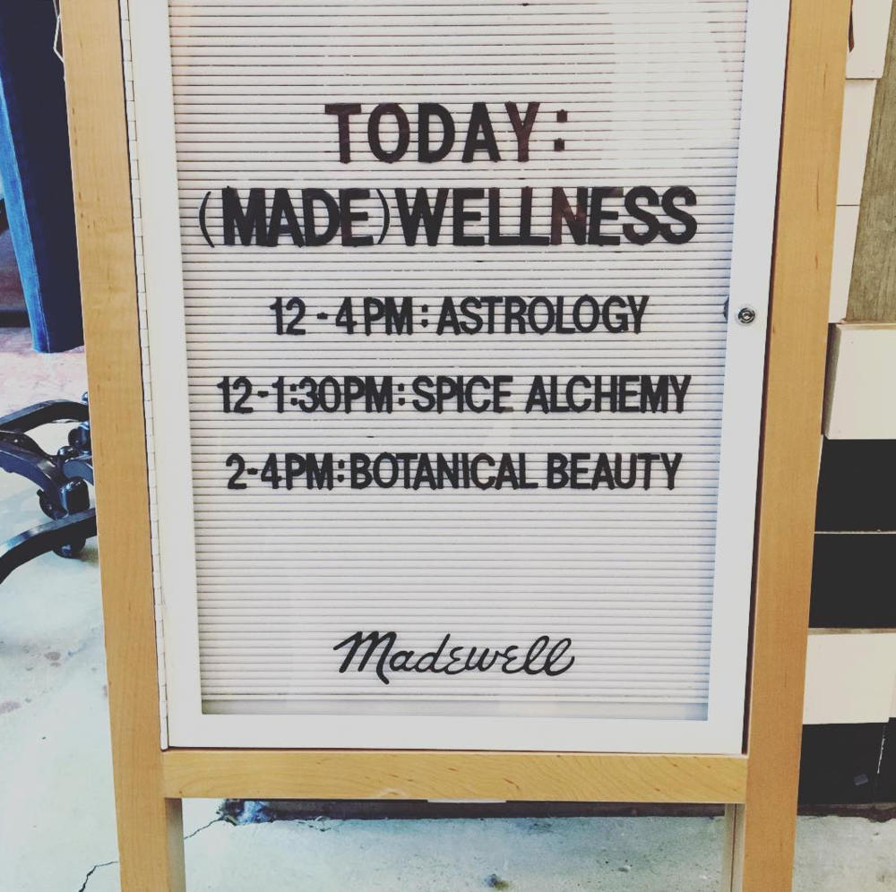 LDBA x JESSA BLADES X MADEWELL Wellness Weekend