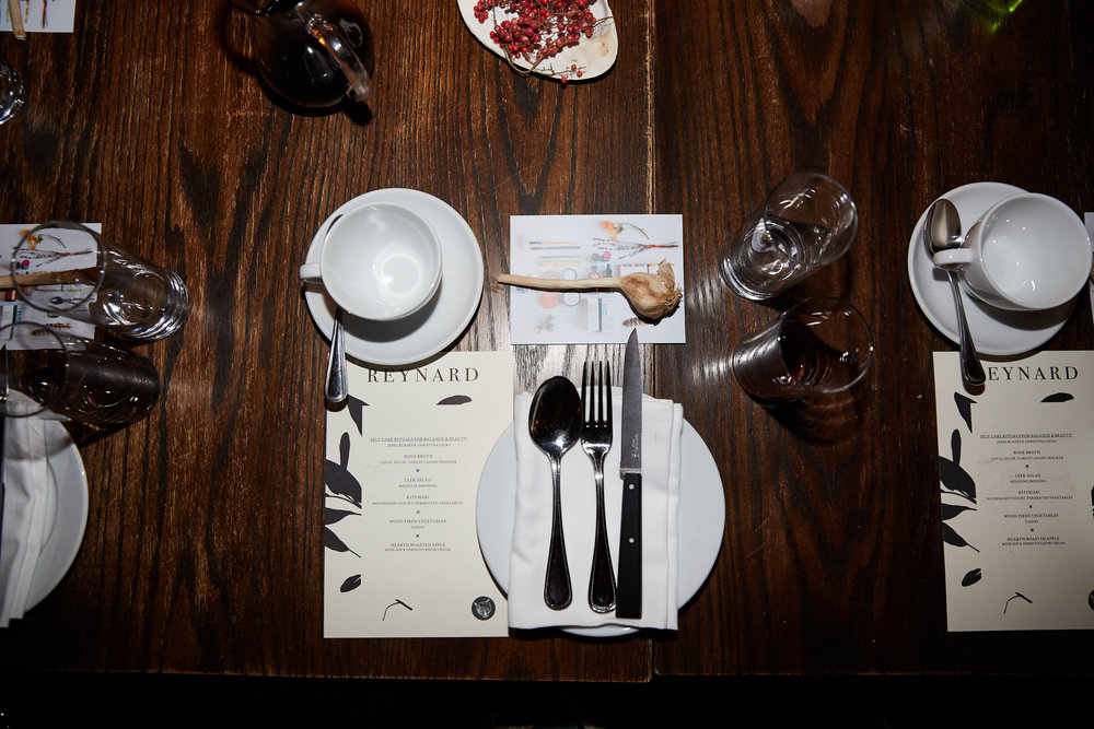 Self Care Rituals Dinner + Workshop at Wythe Hotel