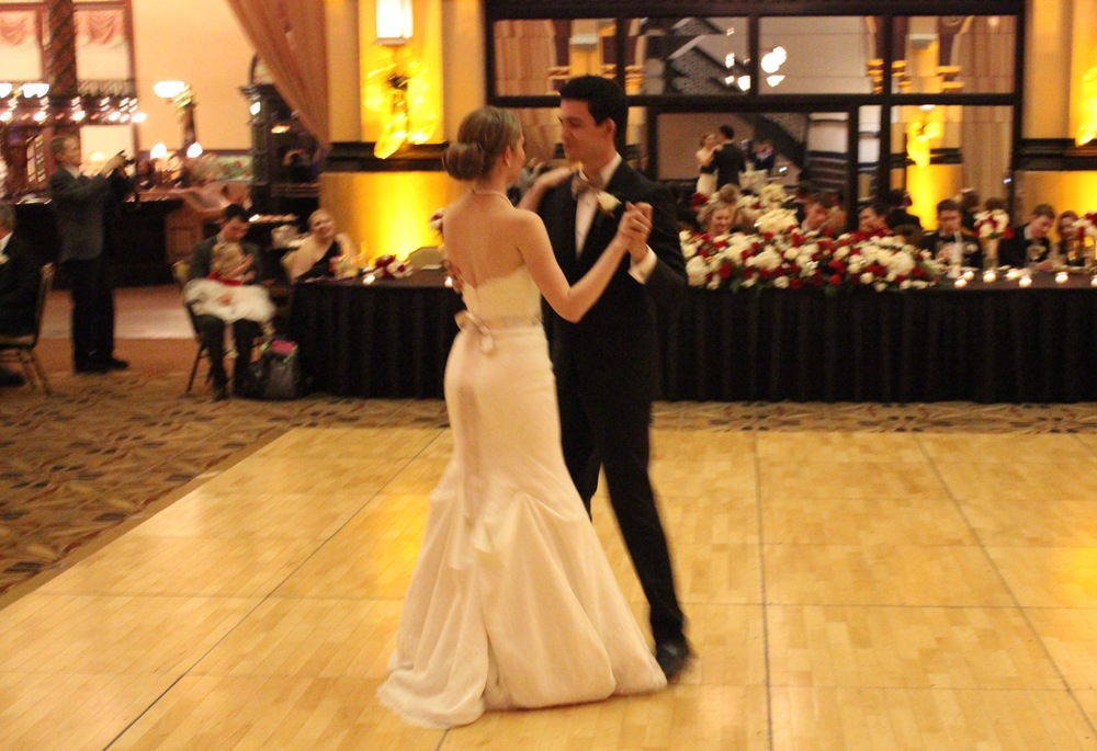 "Katy & Kyle's choreographed 1st dance ""Georgia On My Mind"" by Ray Charles"