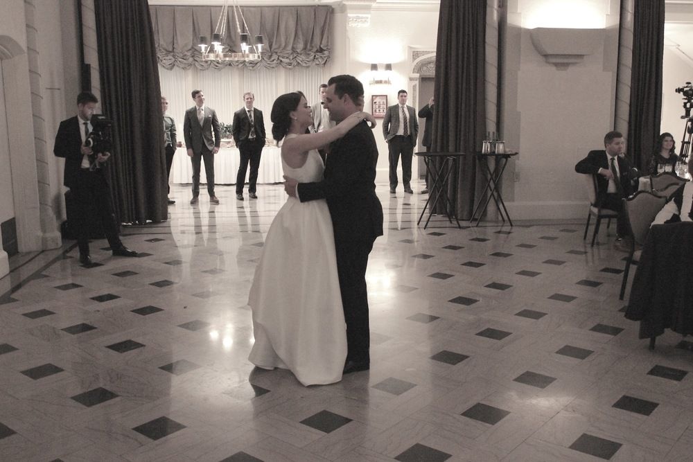 "Maggie & Josh's 1st dance ""Hold On"" Michael Buble"