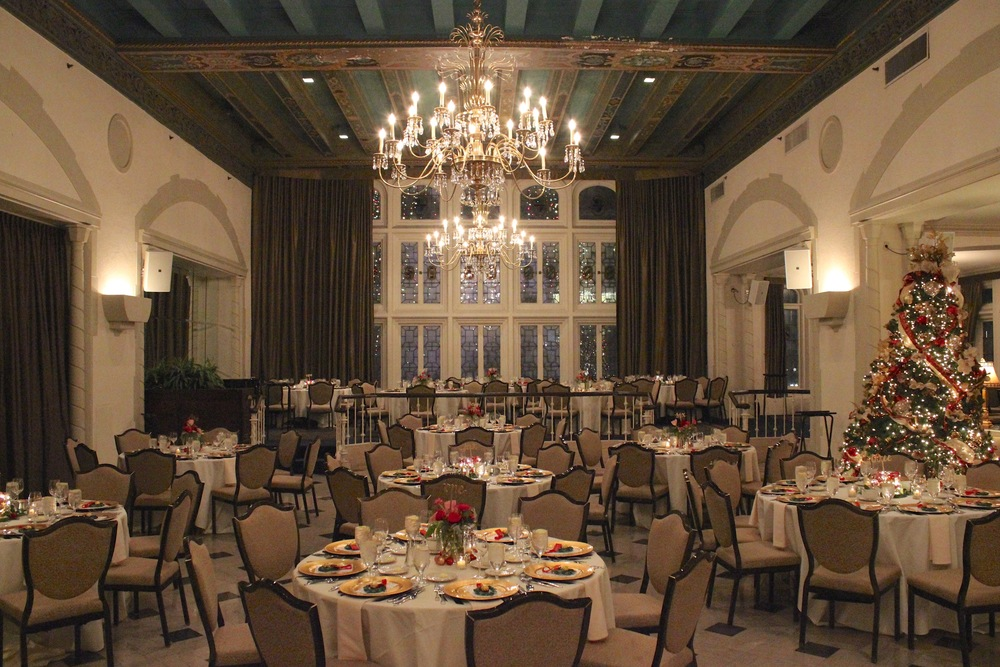 Dinner and Dancing in the Columbia Club's Crystal Terrace
