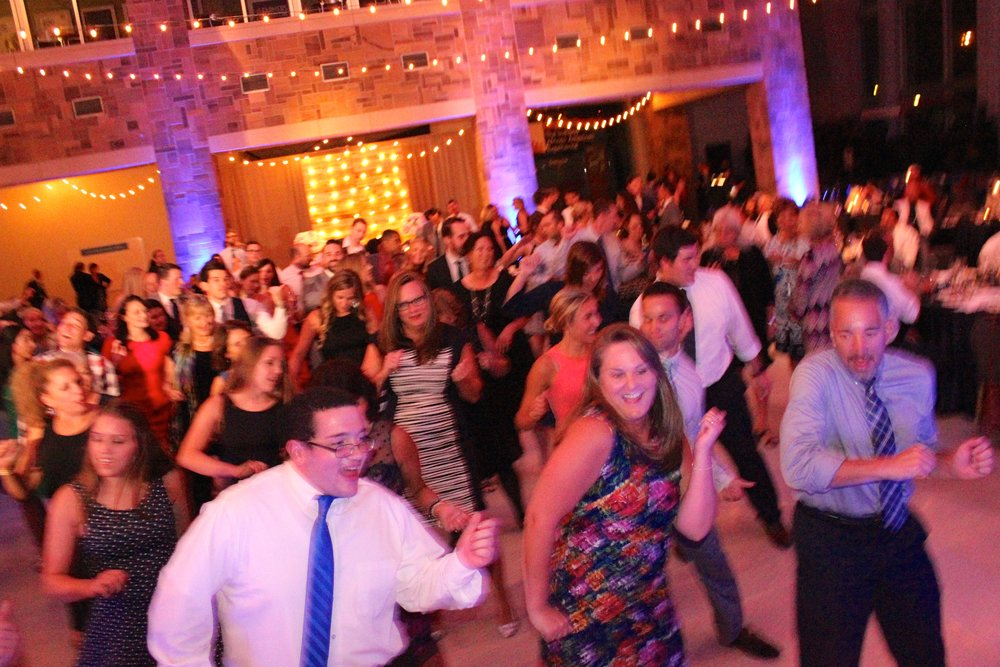 Party Wobbling... (decorative  uplighting by Jim Cerone  The Perfect Host