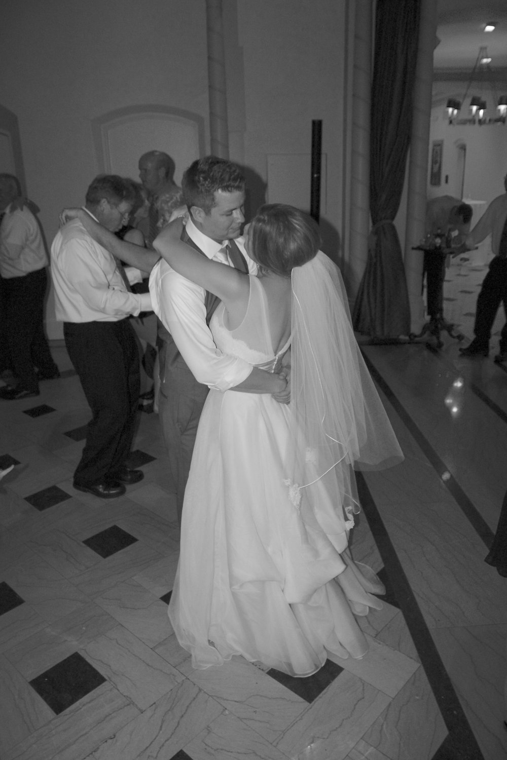 Dance every dance together so you'll have memories like this