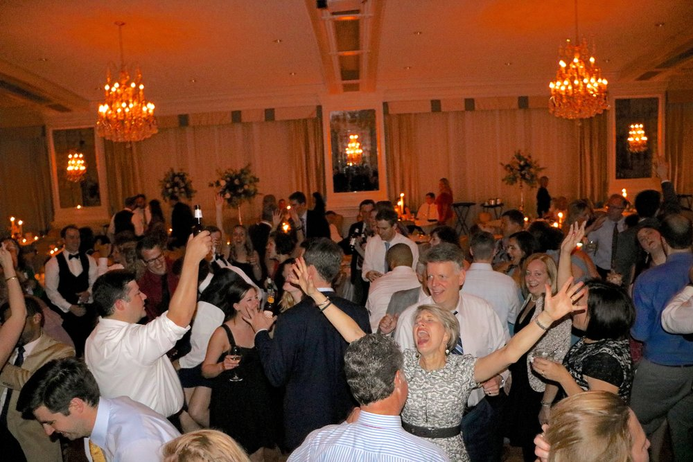 wow what a party from Indiana Wedding DJ Jim Cerone