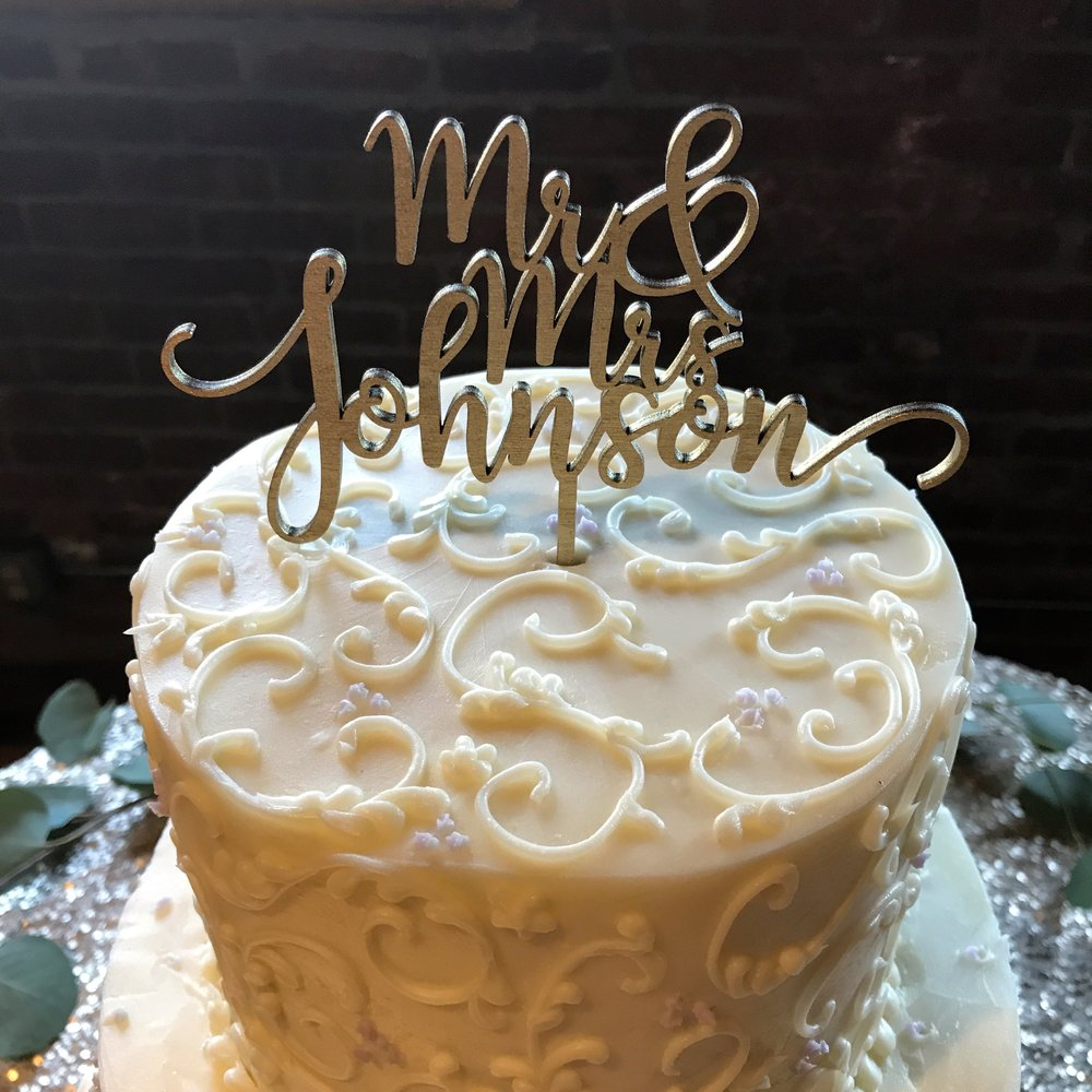 That frosting detail tho...by Classic Cakes Carmel