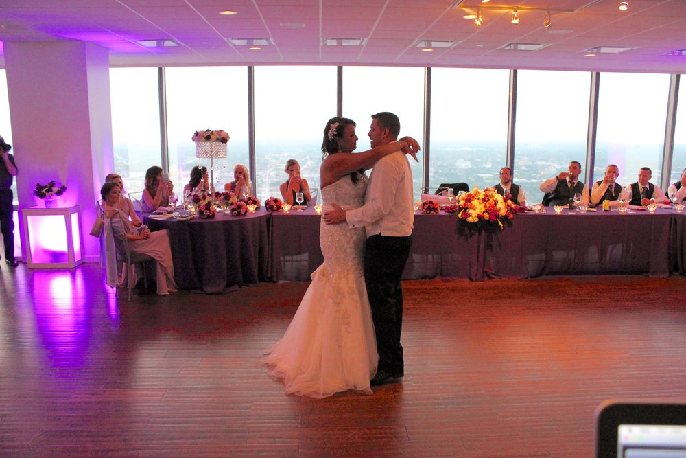 "Allie & Kurtis' 1st dance ""Never Stop"" by Safety Suit"