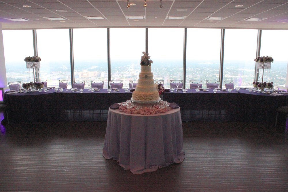 Head Table Cake by Indianapolis DJ Jim Cerone