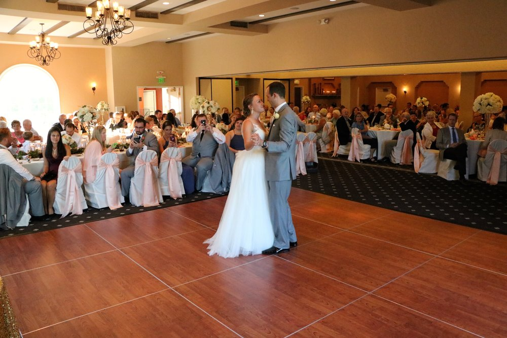 """Adriane & Tyler's 1st dance """"Stand By Me"""" - Ben E. King"""