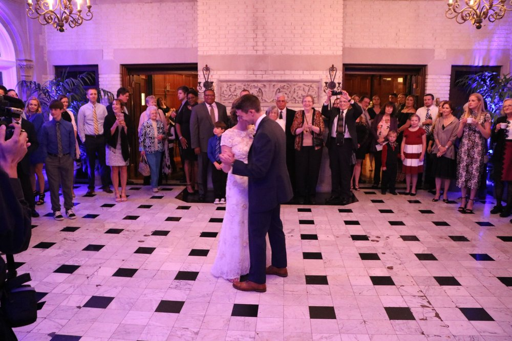 "Jessica & Greg's 1st dance ""What Would I Do Without You"" by Drew Holcomb & the Neighbors"