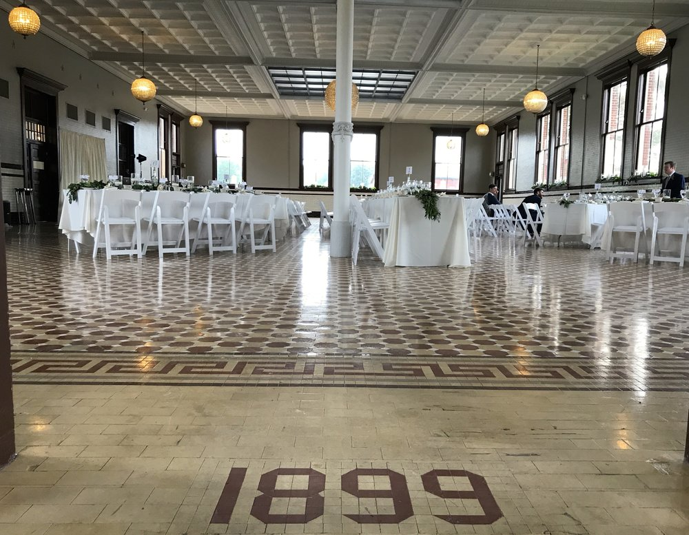 1899 Indy was the perfect venue for Katy & Alex's wedding ceremony and reception