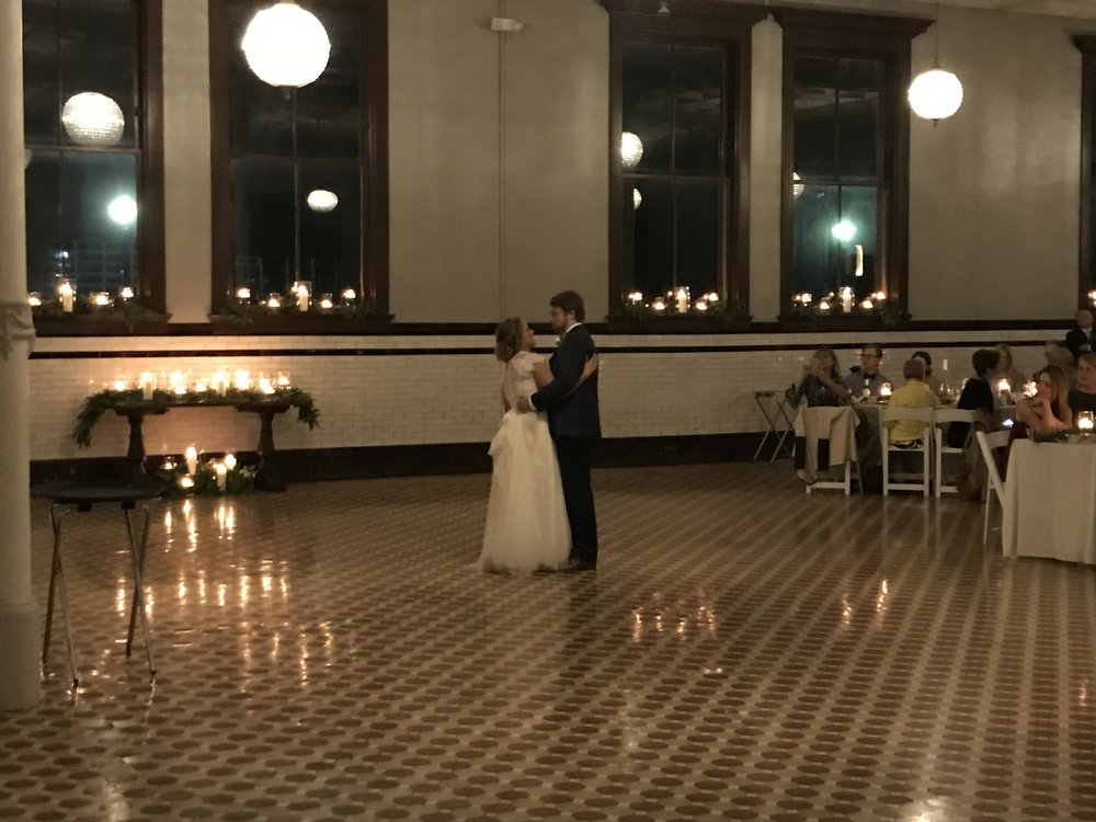 "Alex & Katy's 1st dance ""Wonder of You"" by the Villagers"