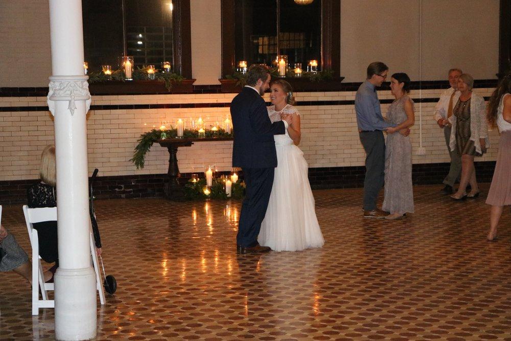 Katy & Alex last slow dance by DJ Jim Cerone