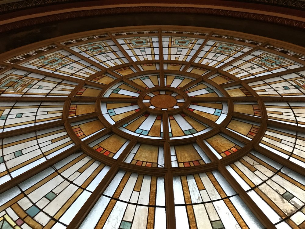 Union Station Stained Glass by DJ Jim Cerone